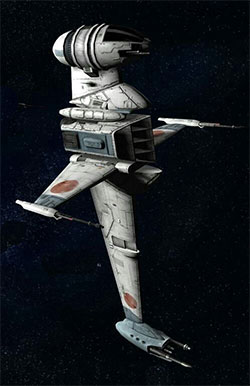 A/SF-01 Heavy Fast Attack Starfighter